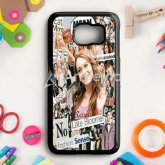 Mean Girls Collage Samsung Galaxy S6 Edge Case | armeyla.com