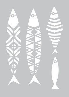 Aluminum Foil Art, Stencils, Winter Art Projects, Abstract Geometric Art, Different Art Styles, Copper Art, Art Drawings For Kids, Nautical Art, Stencil Patterns