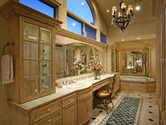 One day when God blesses us with lots of money, I will have a bathroom that looks like this :)