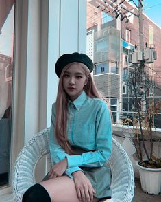 rosé rosie roseanne park aussie park Chanyoung chae rosie aesthetics aesthetic cute soft pastel blackpink black pink yg gg kpop korean korea 블랙핑크 r o s i e Blackpink Fashion, Korean Fashion, K Pop, South Korean Girls, Korean Girl Groups, Blackpink Outfits, Foto Rose, Rose Park, Girly