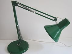 Danish Adjustable Task Lamp by 20thCenturyGoods on Etsy, $42.00