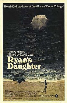 Ryan's Daughter was filmed in Dingle, County Kerry.  The lashing rainstorm is the reason why Ireland is sooo green!