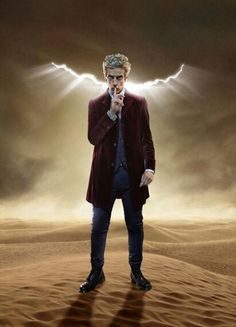 This is the 2nd pic of seen of Capaldi with the crack from 11's era. Is this a thing for real?!!