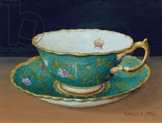 "Galley - ""Turquoise cup and saucer"" (1995)"