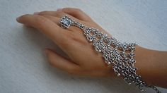 Bohemian Woman Metalwork Ring With by WomanScarves on Etsy, $43.00