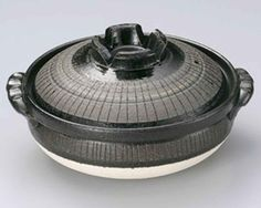 Black Tokusa for 6-8 persons 14.4inch Donabe Japanese Hot pot Black Ceramic Made in Japan *** Awesome product. Click the image : Bakers and Casseroles