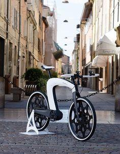 The nCycle e-bike - a next generation vehicle. #ebike #bike #transportation #YankoDesign