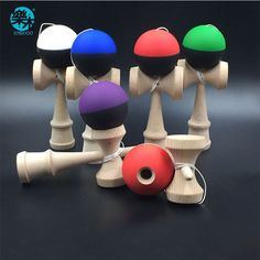 Free shipping Woodedn toy  KENDAMA Ball Strings Professional Japan Japanese Toy Ball KENDAMA Leisure outdoor Sports play game