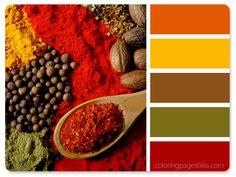 Spices Color Palette