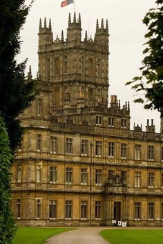 Highclere Castle (otherwise known as Downton Abbey)