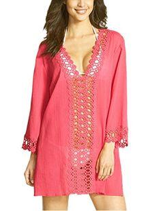 MiYang Women's Floral Lace Beach Bikini Swimwear Cover-up, Red, X-Small(US Size 0-4) MiYang Swim http://www.amazon.com/dp/B010SPPNNK/ref=cm_sw_r_pi_dp_eS5Owb0X6R5QQ