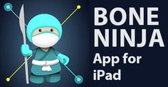 Meet the Bone Ninja, an iPad App That Analyzes Bone Deformities - Users can make real-time adjustments to X-Rays – or even photographs – of limb deformities; this helps them visualize the process before their patients ever enter the OR. Bone Ninja includes tools for drawing lines, measuring angles and lengths and even simulating surgical incisions.