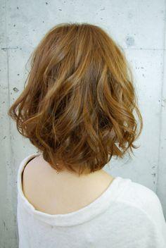 Medium Hair Styles, Short Hair Styles, Digital Perm, Curled Hairstyles, Cut And Style, Wavy Hair, Curls, Hair Cuts, Hair Color