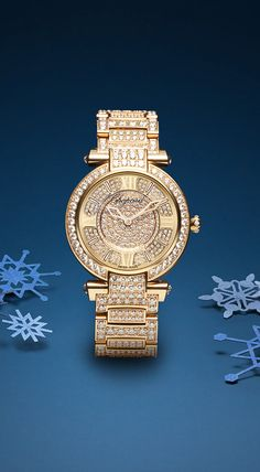 IMPERIALE #watch – Truly majestic in 18-carat rose gold and #diamonds