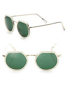 0f43181949 Kyme - Omar 44MM Modified Round Sunglasses. Γυαλιά Ηλίου