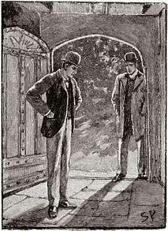 Original Illustrations Of Sherlock Holmes Magazine Illustration Death