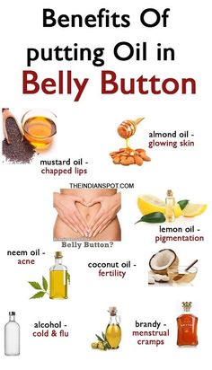 Remedies Natural Belly button remedies - No matter how bizarre it may sound, but the truth is that your belly button is a magical spot that can help cure daily problems. As you know, the belly button is the focal point of your body. Natural Home Remedies, Natural Healing, Holistic Healing, Cooking With Turmeric, Acne Oil, Mustard Oil, Belleza Natural, Oils For Skin, Health Remedies