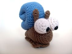 Meet Martin the Snail In real life, snails can be a little bit slimy... but not this cutie! $4.00