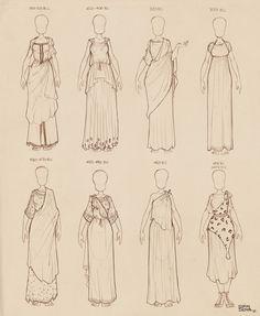 Ancient Greek Dresses Vol 2 by Ninidu on DeviantArt