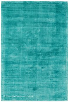 Trendy Shiny Turquoise Rug A Luxury Hand Woven Modern Made From 100