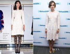 Keira Knightley In Huishan Zhang - SiriusXM - Red Carpet Fashion Awards