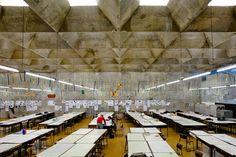 Faculdade de arquitectura de São Paulo,1969 - Arqtº Vilanova Artigas photo: pedro-kok2