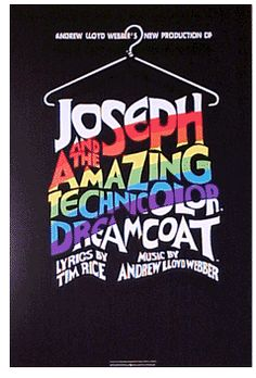 Joseph and the Amazing Technicolor Dreamcoat the Musical Broadway Poster
