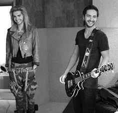 Illegally downloading music is stealing. — Bill Kaulitz