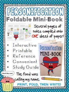 fun personification in my fourth grade classroom today i  are you looking for a fun way to learn practice or review personification