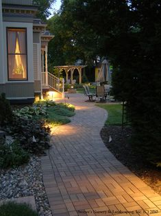 Paver Sidewalk Design, Pictures, Remodel, Decor and Ideas - page 2