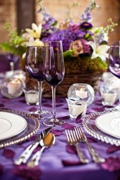 50 Dark Purple Wedding Ideas To Rock | HappyWedd.com