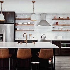 Lighting is an important for neutral kitchen design ideas. That is why you need to know these tips about kitchen lighting. Farmhouse Style Kitchen, Modern Farmhouse Kitchens, Home Decor Kitchen, New Kitchen, Home Kitchens, Kitchen Dining, Kitchen Ideas, Corner Kitchen Tables, Kitchen Island