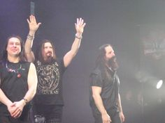 Goodbye's from Dream Theater at Carre' Amsterdam 24 Feb.2016