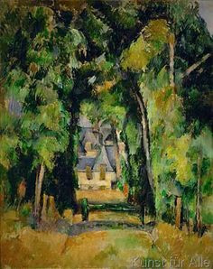Paul Cézanne - Allée à Chantilly