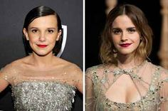 But one person she's never met is Emma Watson, which is a shame, because she's basically Emma's mini-me. Millie Bobby Brown Finally Met Emma Watson And It's So Adorable Stranger Things Quote, Stranger Things Aesthetic, Stranger Things Netflix, Millie Bobby Brown, Marvel Memes, Celebs, Celebrities, Tom Holland, Classic Beauty