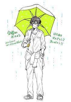 Kinyoubi no Ohayou! Anime Poses, Manga Poses, Amazing Drawings, Cute Drawings, Art Reference Poses, Drawing Reference, Character Drawing, Character Design, Koi