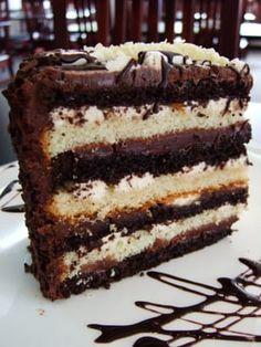 Tuxedo Cake Recipe Truffle Mousse The Original Cakerie