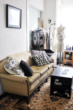 Home Tour of Melissa Fleis of Project Runway