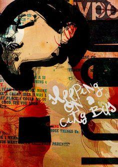 'Sleeping on a City Bus. Oldies But Goodies, My Best Friend, Sleep, City, Illustration, Artwork, Movie Posters, Work Of Art, Film Poster
