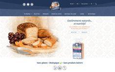 L'art de cuisiner du pain sans gluten avec des farines bio et de haute qualité. Visitez notre boutique en ligne pour découvrir notre variété de produits sans gluten, sans caséine, et pauvres en FODMAP. Valeur Nutritive, Nutrition, Fodmap, Bio, Gluten Free, Boutique, Cooking Food, Dairy, Baked Goods