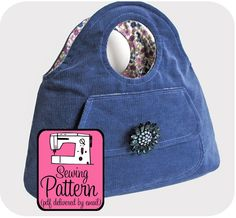 Bracelet Bag Sewing Pattern  PDF Pattern Email by michellepatterns. Permission given for the home sewer to sell finished product. Thanks, Michelle.