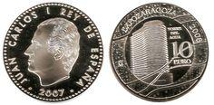 Monedas y sellos de la Expo Zaragoza 2008
