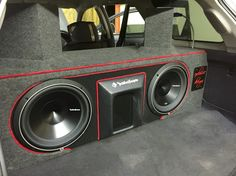 Custom installs Custom Subwoofer Box, Subwoofer Box Design, Custom Trucks, Custom Cars, Custom Car Audio, Car Audio Installation, Custom Car Interior, Vanz, Car Audio Systems