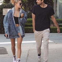 Hailey and Yoni Laham out in Melrose, Los Angeles, CA. (10.10.2017) #haileybaldwin #yonilaham ⠀⠀⠀⠀ ⠀⠀⠀⠀ ⠀⠀⠀⠀⠀⠀⠀⠀⠀ [We don't own any of these images. All rights reserved to their respective owners. ©]