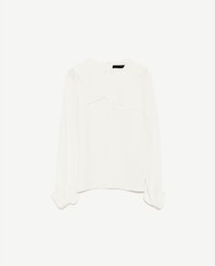 Image 8 of CROSSOVER LAYER BLOUSE from Zara