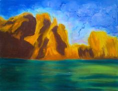 Rocks Over Teal Waters: Writer mulling around....