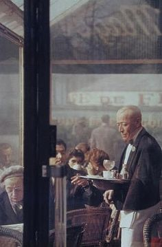 Saul Leiter, Waiter, Paris