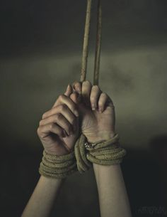 "Nessian bondage kink""""Come play with me, Nesta, and I'll teach you far more interesting ways to bring a male to his knees. Story Inspiration, Writing Inspiration, Character Inspiration, Tied Hands, Yennefer Of Vengerberg, Wattpad, People, Image, Ropes"