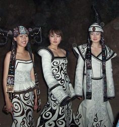 Mongolia - beautiful women from the land of Genghis Khan