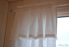 Bedroom Curtains Idea for DIY Whitewashed Cottage chippy shabby chic french country rustic swedish decor idea